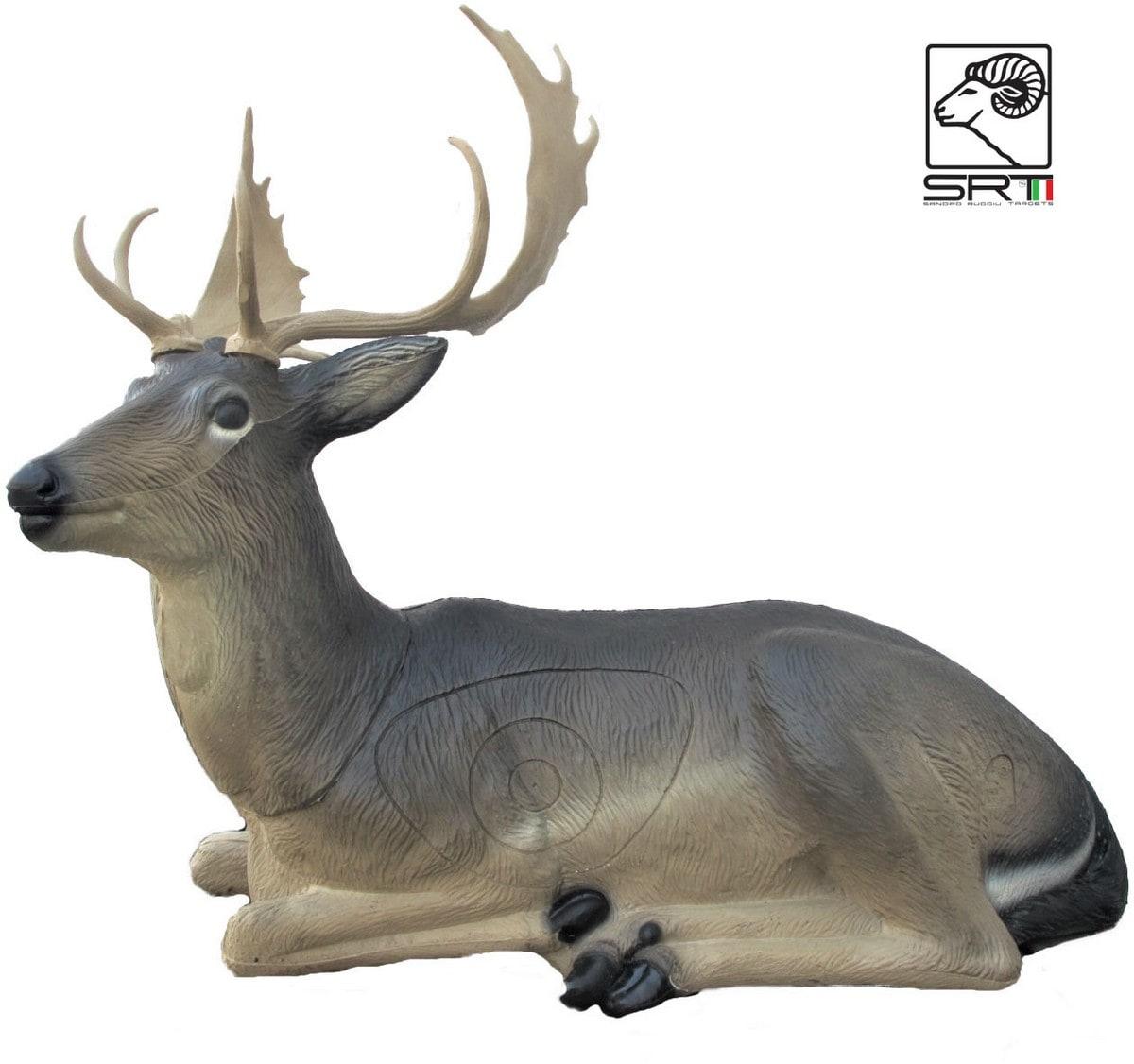 3d Tier Ziel Bogenschießen Targets FRANZBOGEN Sitzender Rehbock