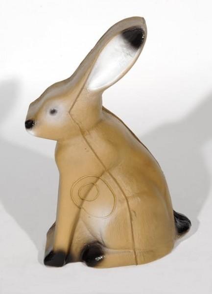 3D Tier Franzbogen Hase sitzend