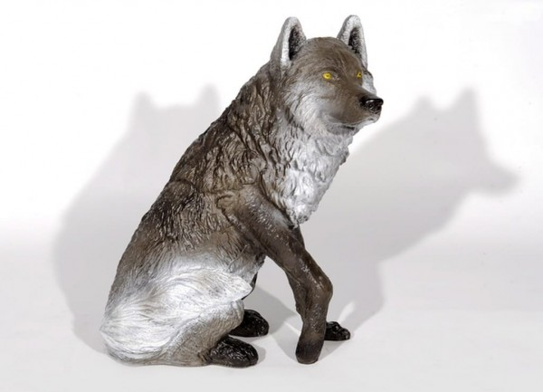 3D-Ziel sitzender Wolf Franzbogen