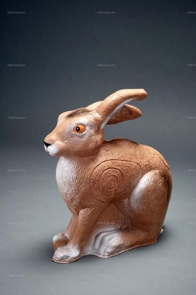 Elite-Bogen Premium 3D-Tier Kaninchen sitzend