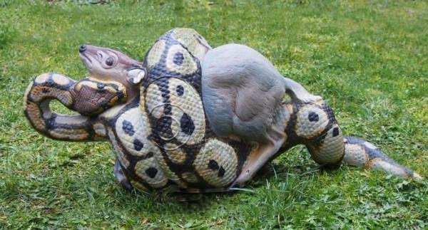 3D-Tier NaturFoam Python mit Beute