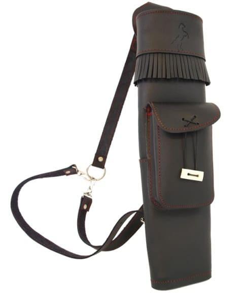 Black Stallion 3-Punkt Rückenköcher