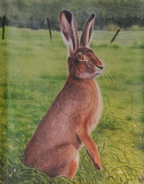 Tierbild-Scheibenauflage Hase