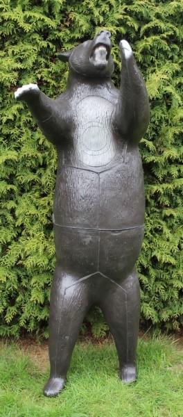 3D Tier Franzbogen Schwarzbär stehend