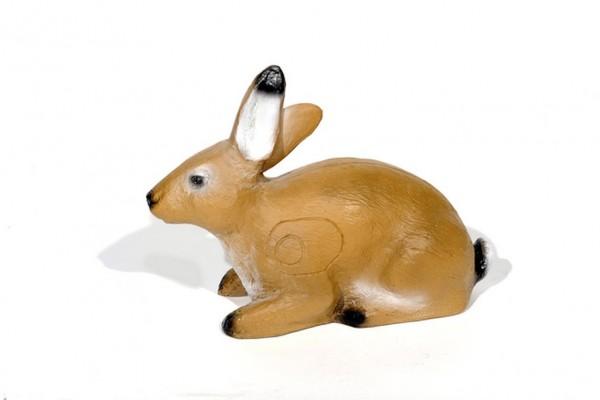 3D-Ziel liegender Hase Franzbogen