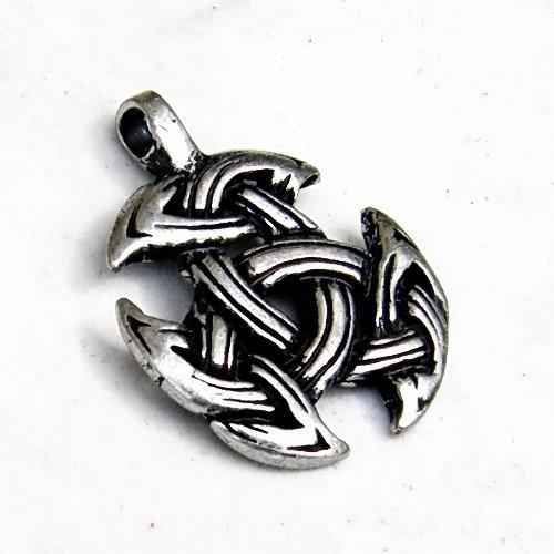 keltisches Amulett Triade silber