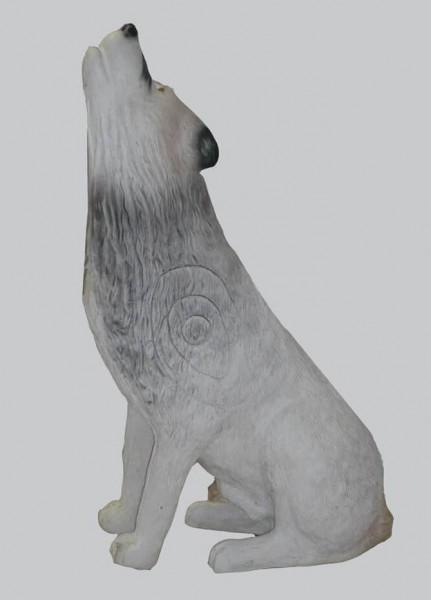 Leitold weißer Wolf heulend