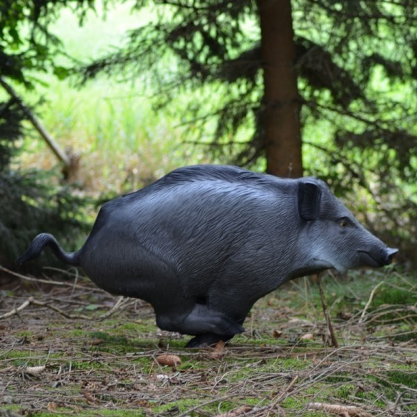 NaturFoam flüchtendes Wildschwein