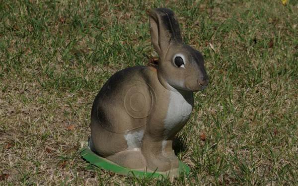 3D-Ziel Kaninchen sitzend NaturFoam