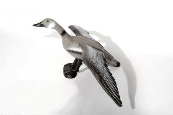 3D-Ziel fliegende Graugans