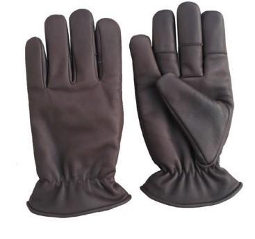 Schießhandschuhe für den Winter aus Leder