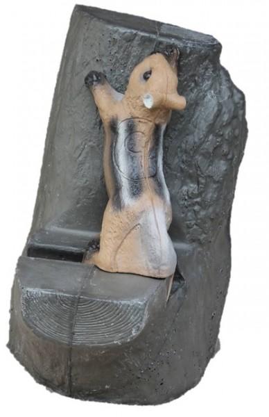 Franzbogen Streifenhörnchen mit Backstopp