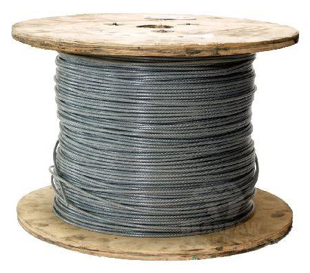 PVC ummanteltes Stahlseil
