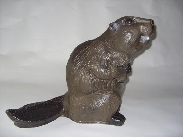 3D Tier großer Biber