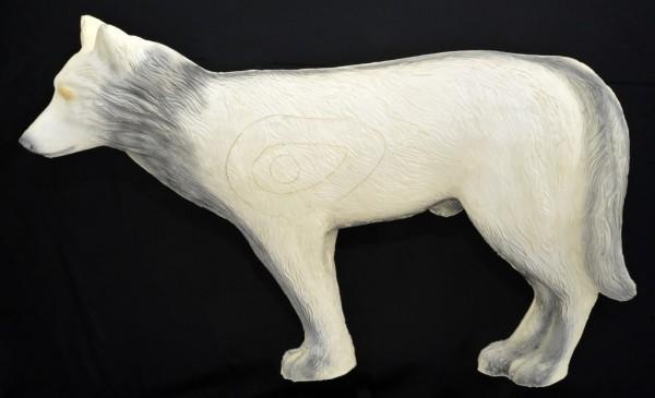 3D Ziel Leitold weißer Wolf laufend