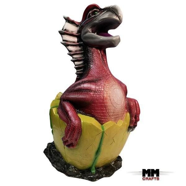 MM Crafts 3D Ziel Drachenküken