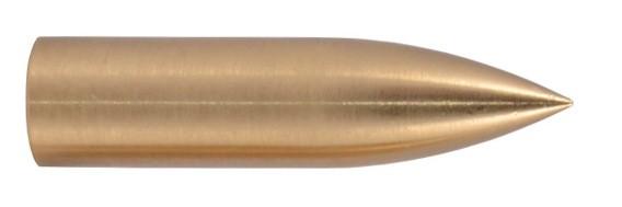 Schraubspitze Bullet Messing